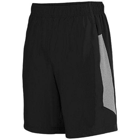 TCWP 3308 Black / Graphite Heather Augusta Shorts
