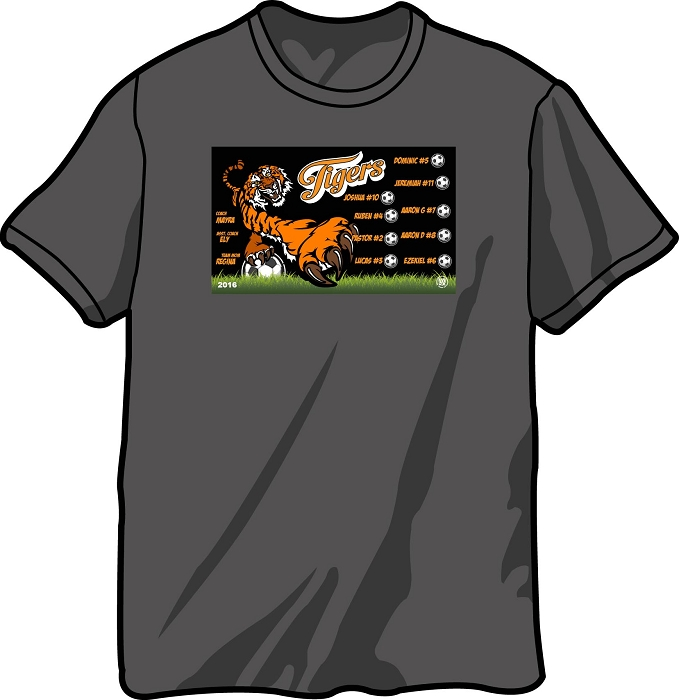 Sports / Team Gift T-Shirt Front Only