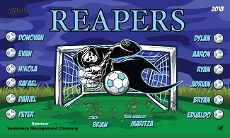 B2343 Reapers 3x5 Banner