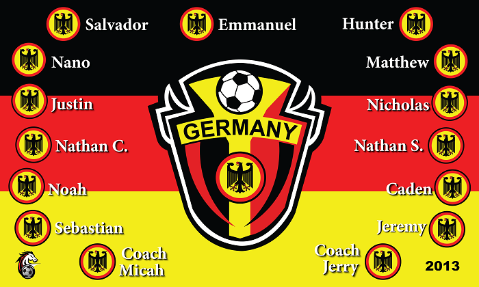 B1072 Germany 3x5 Banner