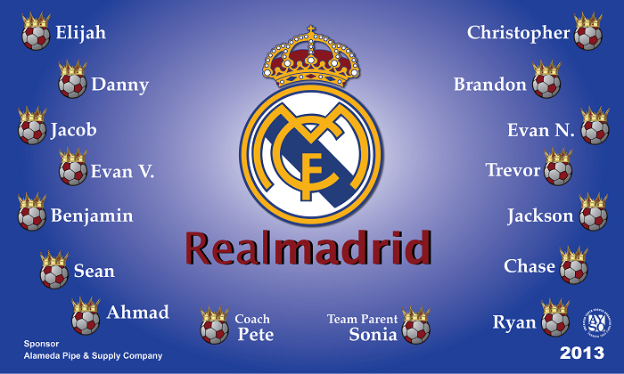 B1150 Real Madrid 3x5 Banner
