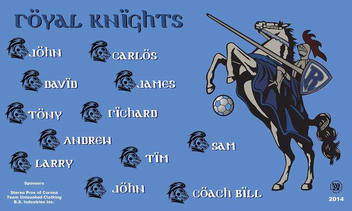 B1161 Royal Knights 3x5 Banner