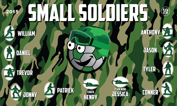 B1328 Small Soldiers 3x5 Banner