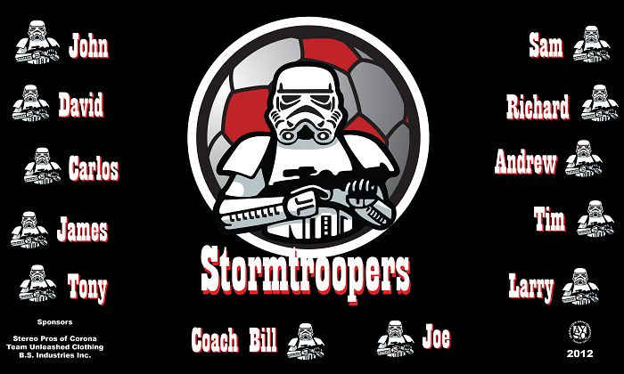 B1182 Stormtroopers 3x5 Banner
