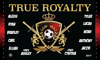 B2405 True Royalty 3x5 Banner