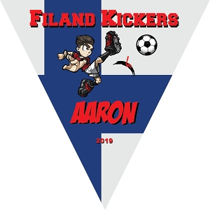 P1043 Finland Kickers Pennant Triangle