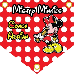 P1055 Mighty Minnies Base Pennant