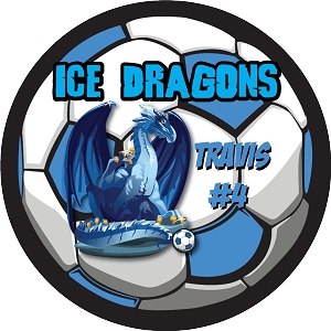 P1053 Ice Dragons Circle Pennants