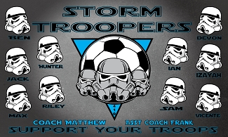 B2098 Storm Troopers 3x5 Banner