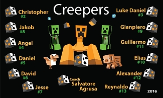 B1849 Creepers 3x5 Banner