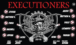 B1978 Executioners 3x5 Banner