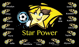 B2314 Star Power 3x5 Banner