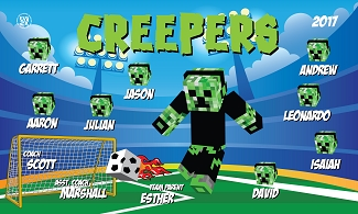 B2015 Creepers 3x5 Banner
