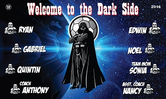 B1831 The Dark Side 3x5 Banner