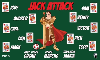 B1599 Jack Attack 3x5 Banner