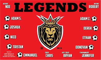 B1706 Legends 3x5 Banner