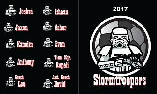 B2113 Storm Troopers 3x5 Banner