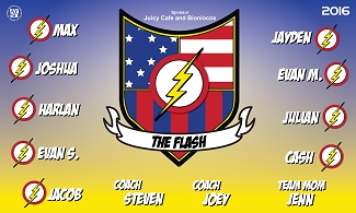 B1736 The Flash 3x5 Banner