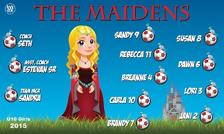 B1563 The Maidens 3x5 Banner