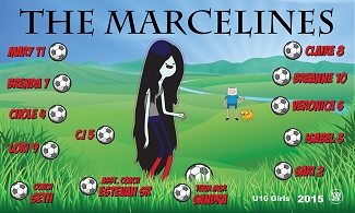 B1603 The Marcelines 3x5 Banner