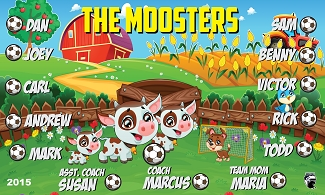 B1661 The Moosters 3x5 Banner