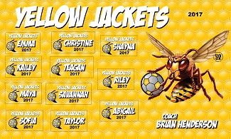 B2054 Yellow Jackets 3x5 Banner
