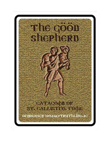 "Good Shepard 18""x24"" Metal Sign"