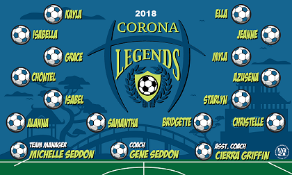 B2336 Corona Legends 3x5 Banner