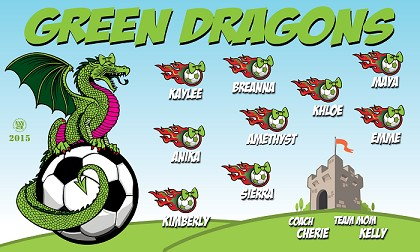 Green Dragons Banners Src Banners