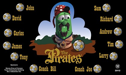 B1137 The Pirates 3x5 Banner