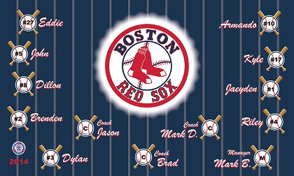 B1365 Red Sox 3x5 Banner
